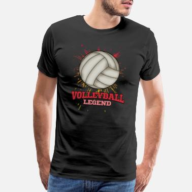 Volleyball Volleyball Beach Volleyball Sports Player Gift - Men's Premium T-Shirt