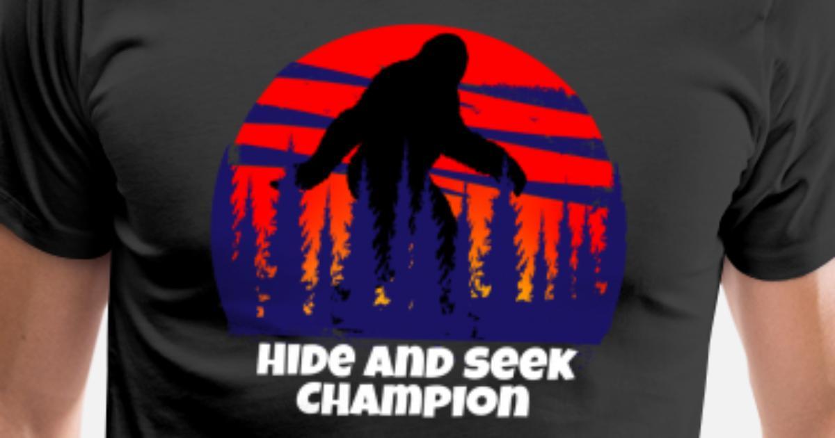 1eb488727 Hide and Seek Champion Yeti Men's Premium T-Shirt | Spreadshirt