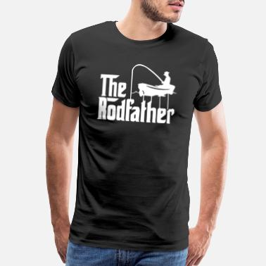 Fish Hook the rodfather 2 - Men's Premium T-Shirt