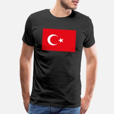 Turkey Flag Flag of Turkey - Men's Premium T-Shirt
