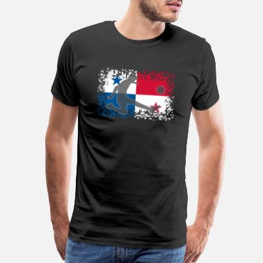 Panama Panama Football Soccer - Men's Premium T-Shirt
