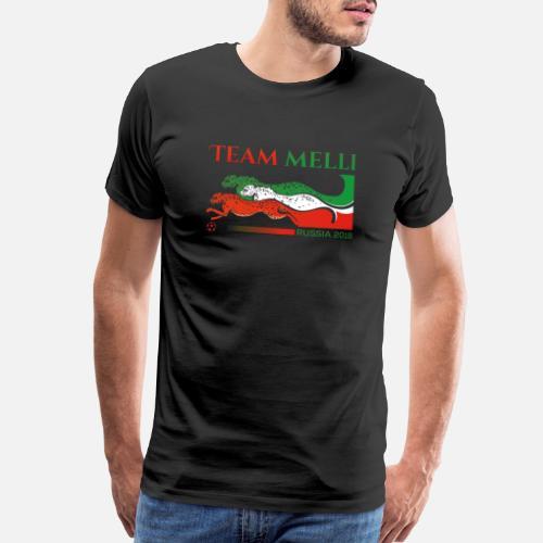 team melli Men s Premium T-Shirt  ad9c3b37b
