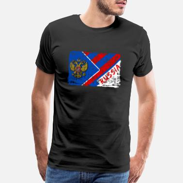 National Socialism Russia Flags Design / Gift Moscow - Men's Premium T-Shirt