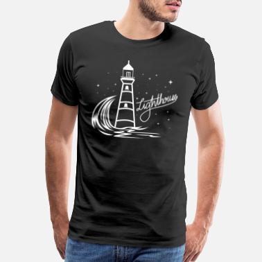 North Sea Lighthouse Coast North Sea Holiday Gift - Men's Premium T-Shirt