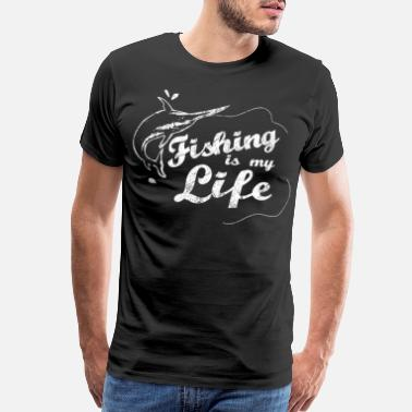 Fishing Lake Fishing Saying Gift - Men's Premium T-Shirt