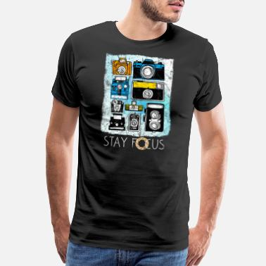 Authentication Photographer Camera Job Gift Idea - Men's Premium T-Shirt