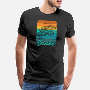 Crawl Snake Snake - Men's Premium T-Shirt