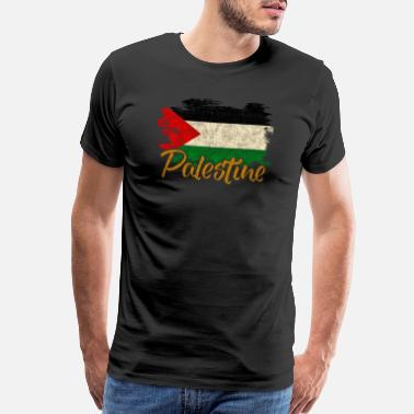 Oppression Palestine - Men's Premium T-Shirt
