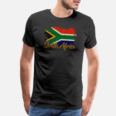 South Africa Flag South Africa - Men's Premium T-Shirt