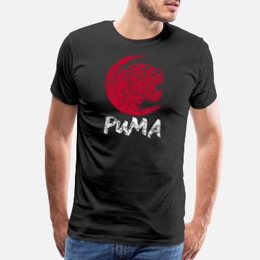 Lion Africa Puma Panther - Men's Premium T-Shirt