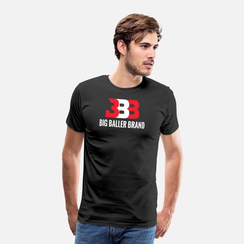 Baller T-Shirts - big baller brand - Men's Premium T-Shirt black