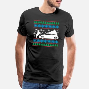 Golf R MK6 GTI Ugly Christmas Sweater - Men's Premium T-Shirt