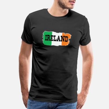 Irish Bar Ireland T shirt Irish Flag 01 01 - Men's Premium T-Shirt