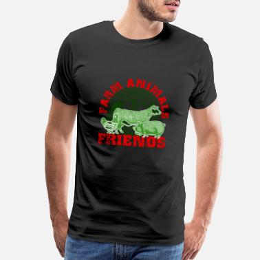 Base Farm animals - Men's Premium T-Shirt