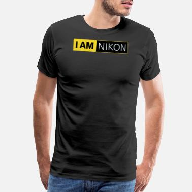 Nikon I AM NIKON Fan Campaign D4 F DSLR 35 mm APS SLR - Men's Premium T-Shirt