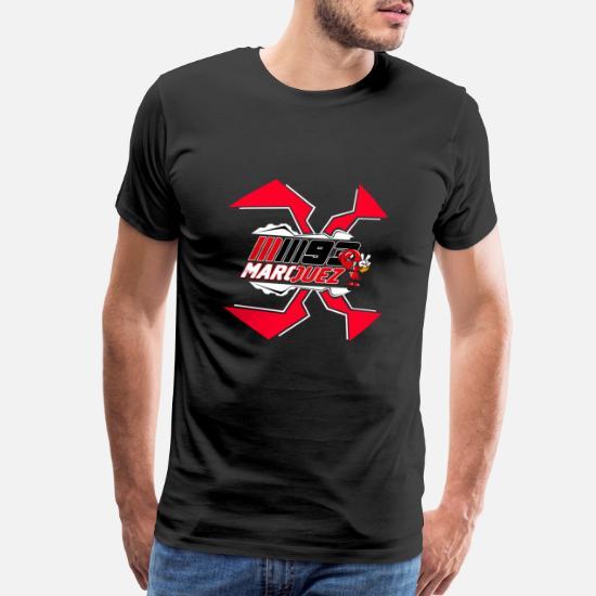 Marc Marquez women's t shirt Outline Big Logo