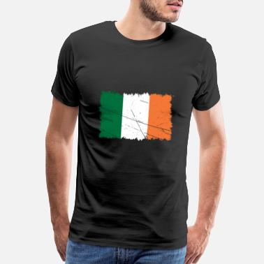 Weekend Festival Ireland Flag St Patrick's Day Gift Idea - Men's Premium T-Shirt