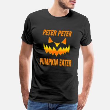 Peter Mens Peter Peter Pumpkin Eater Halloween Couples - Men's Premium T-Shirt