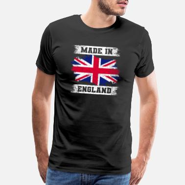 Made In Uk Made In England T-Shirt United Kingdom Tee - Men's Premium T-Shirt