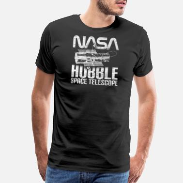 Celestial Bodies NASA Hubble Space Telescope Outer Space Exploratio - Men's Premium T-Shirt