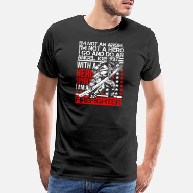 Im A Fireman I Am A Firefighter Profession Job Title - Men's Premium T-Shirt
