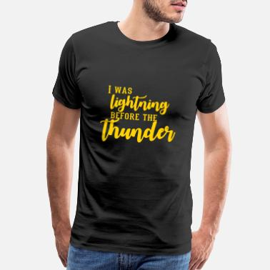 Imagine Dragons I Was Lightning Before The Thunder - Men's Premium T-Shirt
