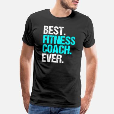 Not Perfect Best Fitness Coach Body Building Sports Gift Idea - Men's Premium T-Shirt