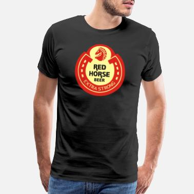 Miguel Red Horse Beer - Men's Premium T-Shirt