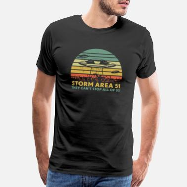 Storm Area 51 Storm Area 51 They Can't Stop All Of Us - Men's Premium T-Shirt