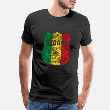Dubs reggae - jah road to zion - Men's Premium T-Shirt