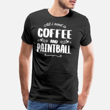 Bean Paintball & Coffee - Men's Premium T-Shirt