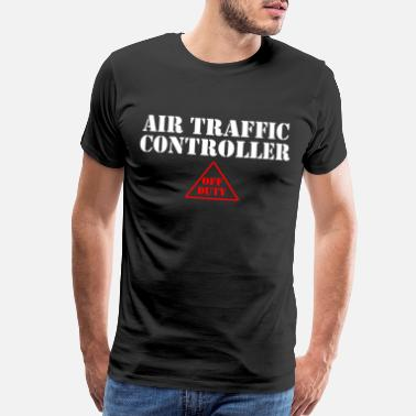 Airfield Air Traffic Controller Airfield Flight Controller - Men's Premium T-Shirt