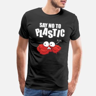 Issues Anti-plastic pollution climate global warming gift - Men's Premium T-Shirt