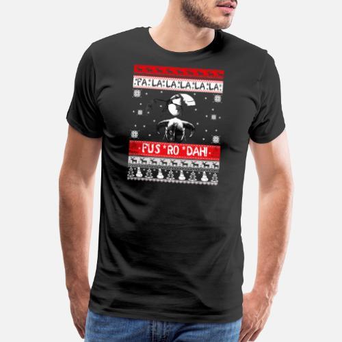 Video Game Ugly Christmas Sweater For Skyrim G Mens Premium T Shirt