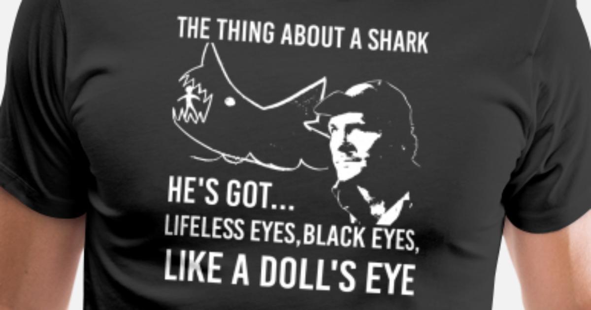 a8cd1f7b Robert Shaw Jaws - Shark Men's Premium T-Shirt | Spreadshirt