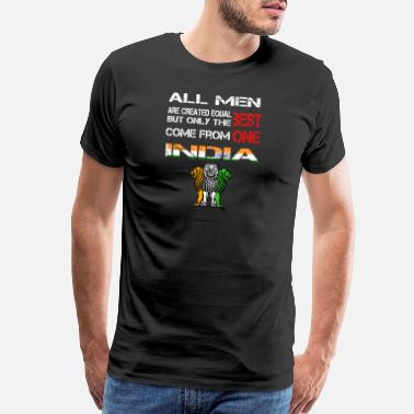 Hinduism Come from India - All men are created equal - Men's Premium T-Shirt