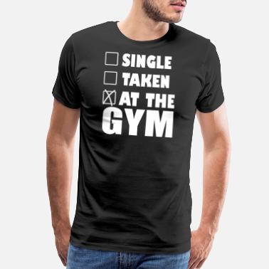 Gym Logo Gym - gym - Men's Premium T-Shirt