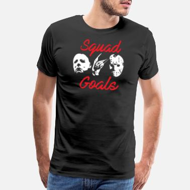 Friday 13th Friday the 13th - Horror Icons Squad Goals - Men's Premium T-Shirt