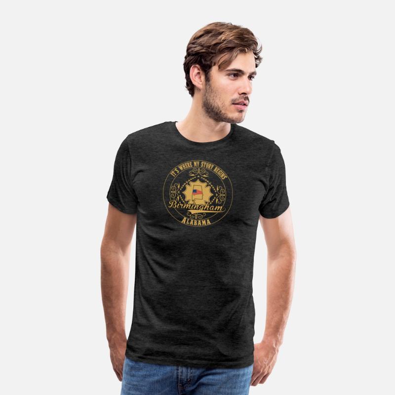 42b365851161fc Birmingham - It's where my story begins t-shirt Men's Premium T-Shirt |  Spreadshirt