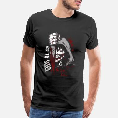 Jeff Buckley Jeff the killer - Go to sleep horror T - shirt - Men's Premium T-Shirt