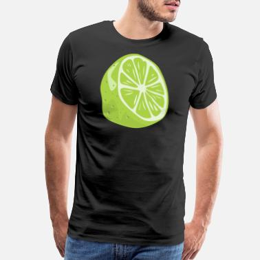 Lime Green Lime - Men's Premium T-Shirt