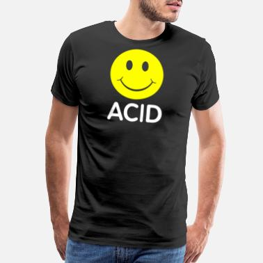 Acid Smiley Smiley House Acid - Men's Premium T-Shirt