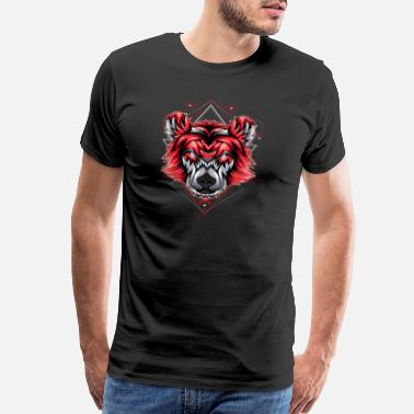Classic bear classic head - Men's Premium T-Shirt