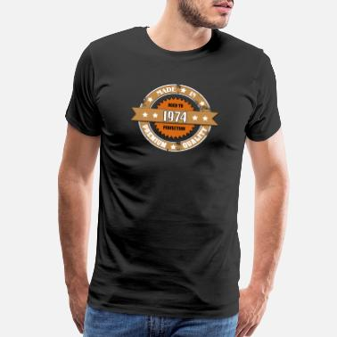 Made In 1974 Vintage Aged To Perfection Made in 1974 - Men's Premium T-Shirt