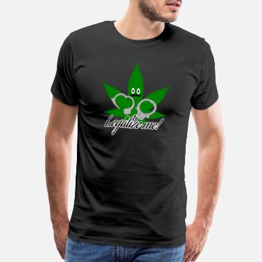 Legalize Canada Cannabis - Men's Premium T-Shirt