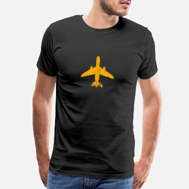 Jetset Aviation Vintage Jet Airplane Airline Pilot Gift - Men's Premium T-Shirt