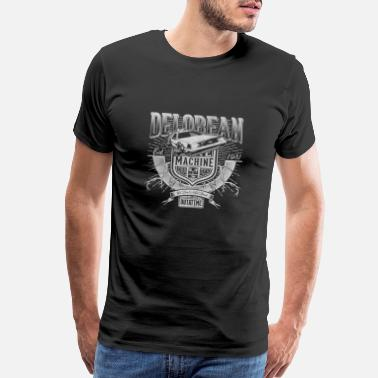 Future Delorean machine - We don't need roads - Men's Premium T-Shirt