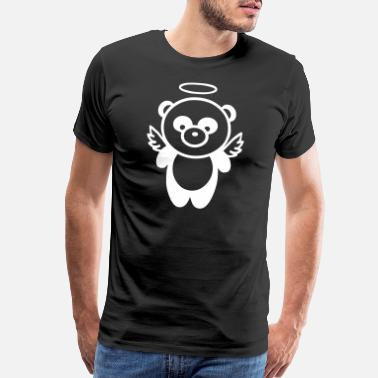 Angel's Wings Panda Angel - Men's Premium T-Shirt