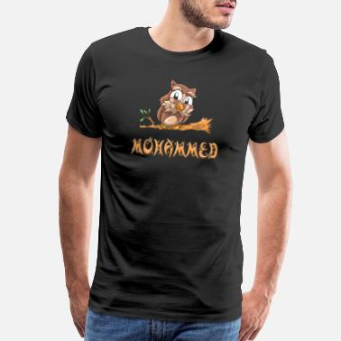 Mohamed Mohammed Owl - Men's Premium T-Shirt