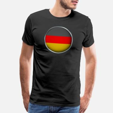 Germany Flag Germany Flag 3D - Men's Premium T-Shirt